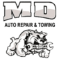 MD Auto Repair & Towing Logo